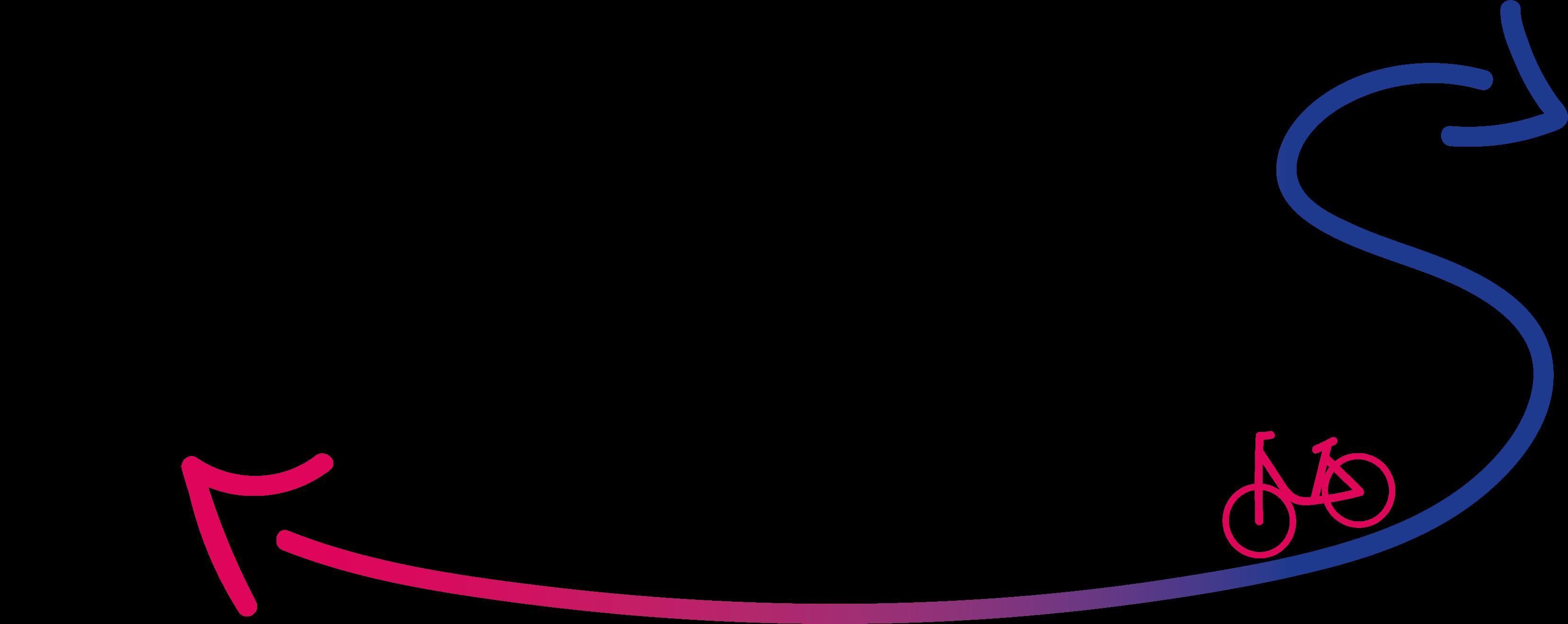 Logo wisselfiets experiment